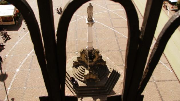 Morový stĺp z veže